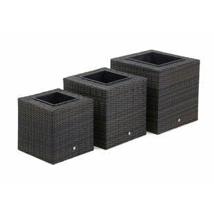 Derrick 3 Piece Plastic Planter Box Set By Freeport Park