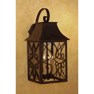 Look for Hancock 3-Light Outdoor Wall Lantern By Laura Lee Designs