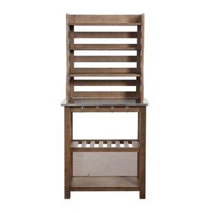 Burnham Home Designs Wood Baker's Rack
