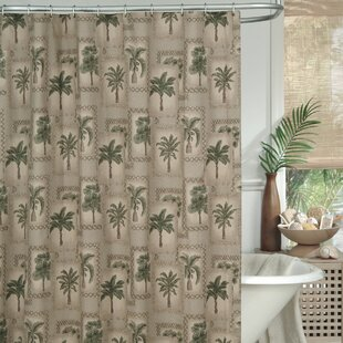 Palm Grove Single Shower Curtain