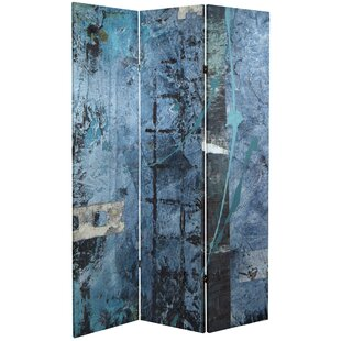 Laya 3 Panel Room Divider by Bloomsbury Market
