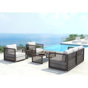 Brayden Studio Baca Deep Seating Group with Cushions