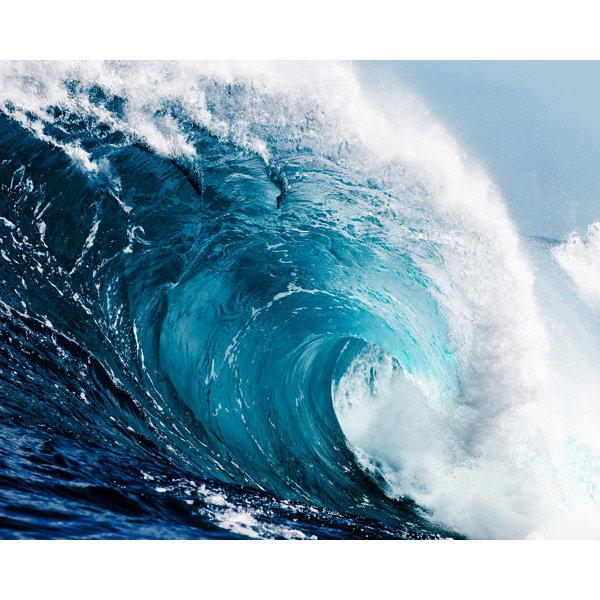 Sticko TSUNAMI Stickers OCEAN CATCH A WAVES METALLIC SURFING NEW