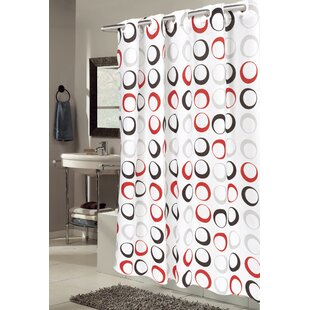 Affordable Netherton Circle Shower Curtain By Ebern Designs