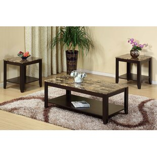 Feld 3 Piece Coffee Table Set by Winston Porter