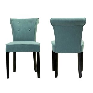 Charlton Home Blouin Upholstered Dining Chair (Set of 2)