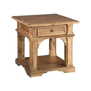 Tyra End Table by One Allium Way Discount
