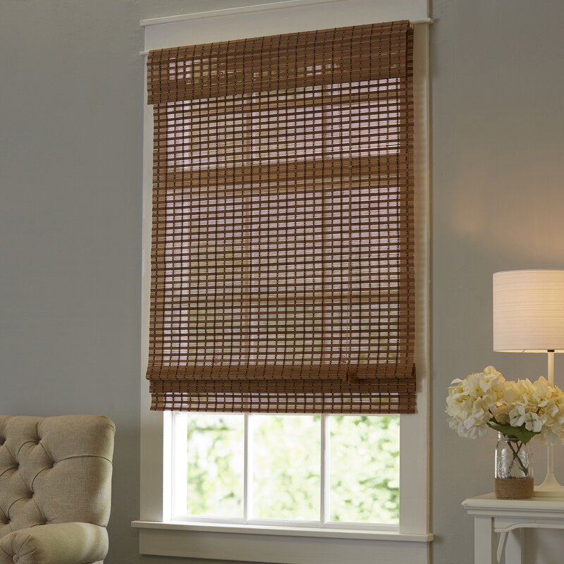 interior cottage blinds roman bamboo