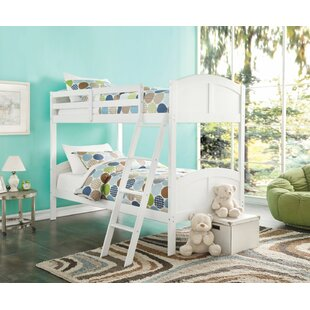 Eadie Convertible Kids Twin Over Twin Bunk Bed