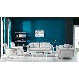 Tiya 4 Piece Living Room Set by Rosdorf Park