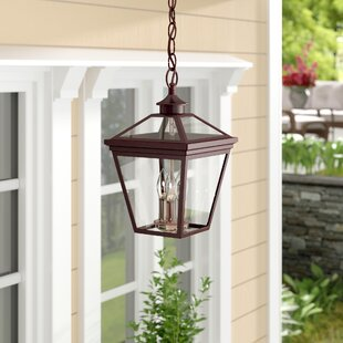 Read Reviews Coleg 3-Light Outdoor Hanging Lantern By Darby Home Co