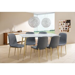 Kadence Dining Table Set With 6 Chairs ...  sc 1 th 225 & Kadence Dining Table Set With 6 Chairs By Metro Lane | Buy Sale Price