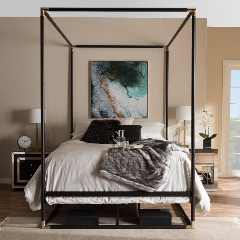 Katherine Queen Canopy Bed