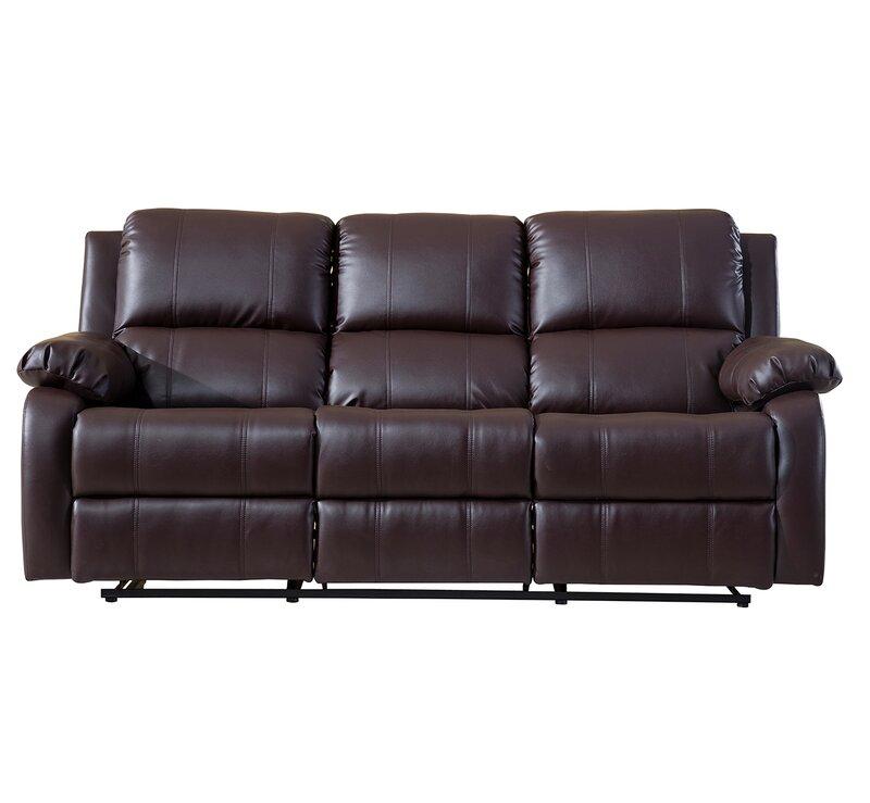 red barrel studio henry oversize reclining sofa reviews wayfair rh wayfair com oversized leather reclining sofa