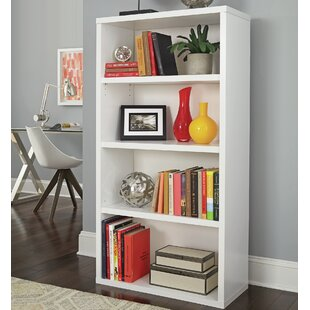 Decorative 4 Shelf Standard Bookcase