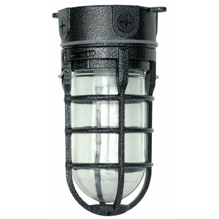 1-Light Outdoor Flush Mount by Woods