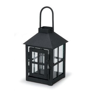 Charlton Home Wide Metal Lantern