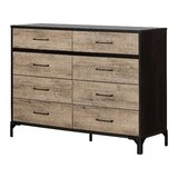Valet 8 Drawer Double Dresser by South Shore