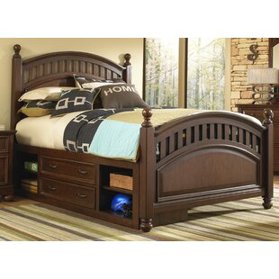 Rylie Panel Bed with Storage by Mack & Milo