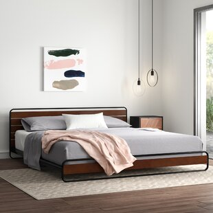Glennon Platform Bed By Hykkon
