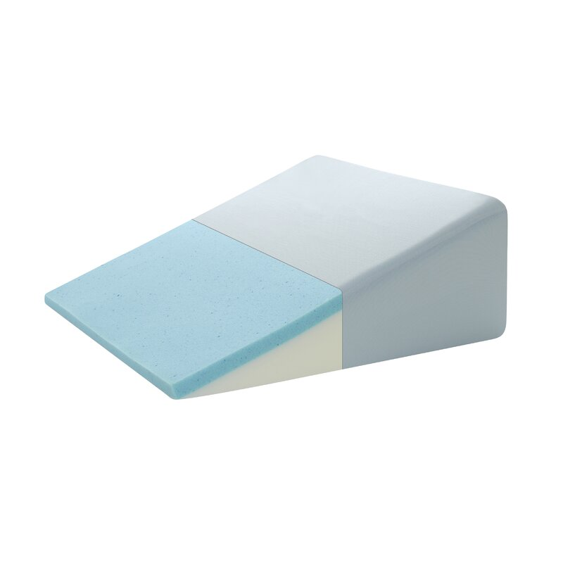 Incroyable Gel Memory Foam Adjustable Sleep Wedge Pillow