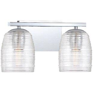Best Deals Zambrano 2-Light Vanity Light By Orren Ellis