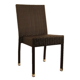 Stacking Patio Dining Chair (Set of 2)