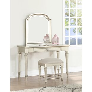 Anette Vanity Set with Mirror by Willa Arlo Interiors