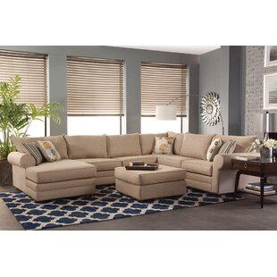 Darby Home Co Honesdale Round Arms Sectional