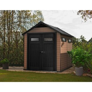 D Composite Storage Shed