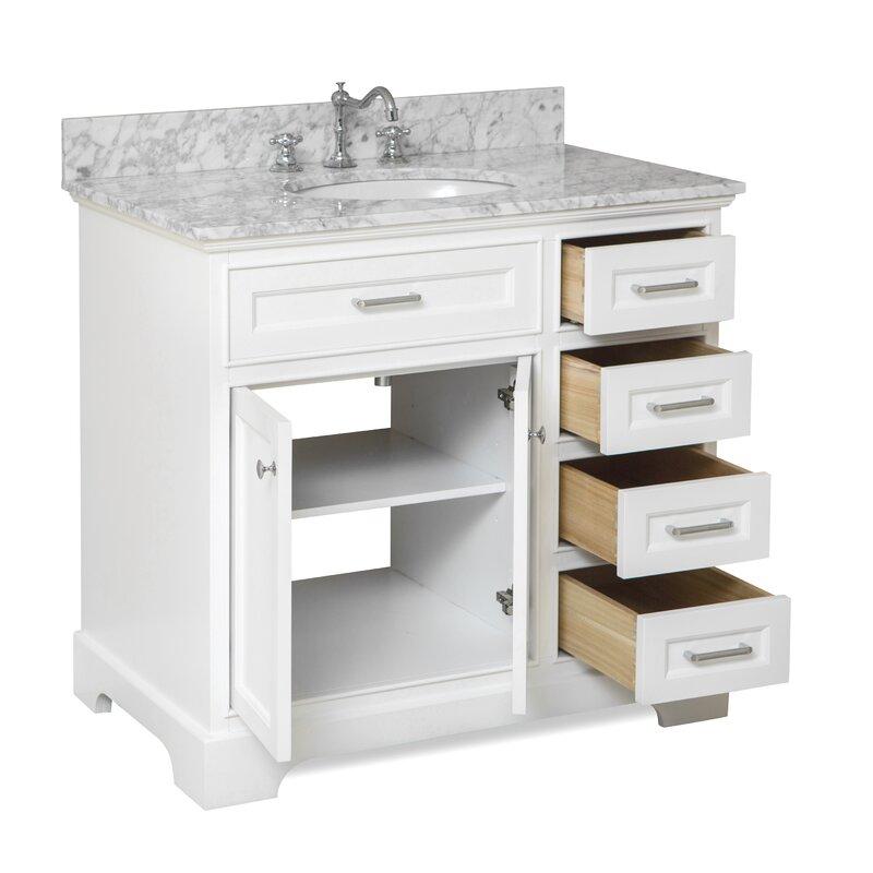 KBC Aria Single Bathroom Vanity Set Reviews Wayfair - Bathroom vanities mn