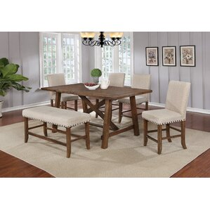 6 Piece Dining Set by BestMasterFurniture