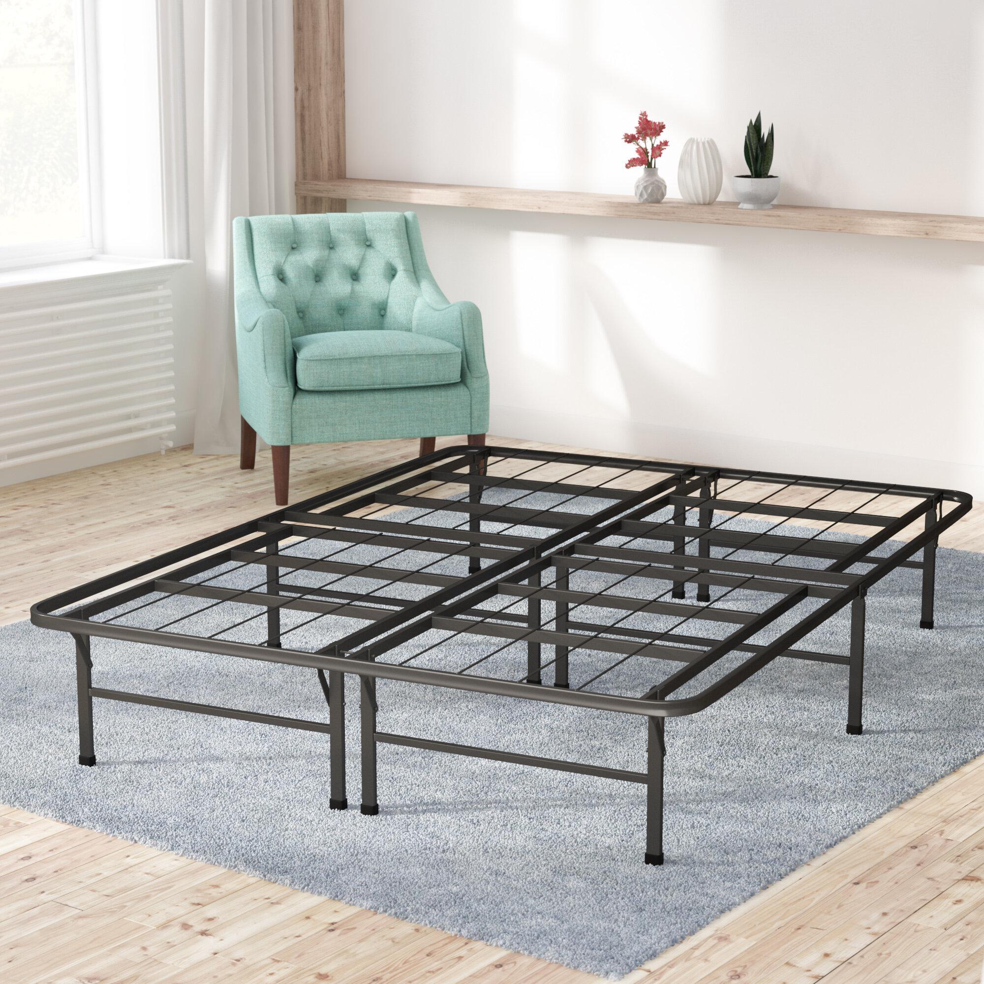 Merveilleux Alwyn Home Box Spring U0026 Bed Frame Foundation U0026 Reviews | Wayfair