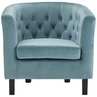 House of Hampton Oxford Velvet Barrel Chair