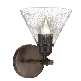 Clearance Pujari 1-Light Armed Sconce By Loon Peak