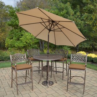 Fleur De Lis Living Braddock 7 Piece Bar Height Dining Set