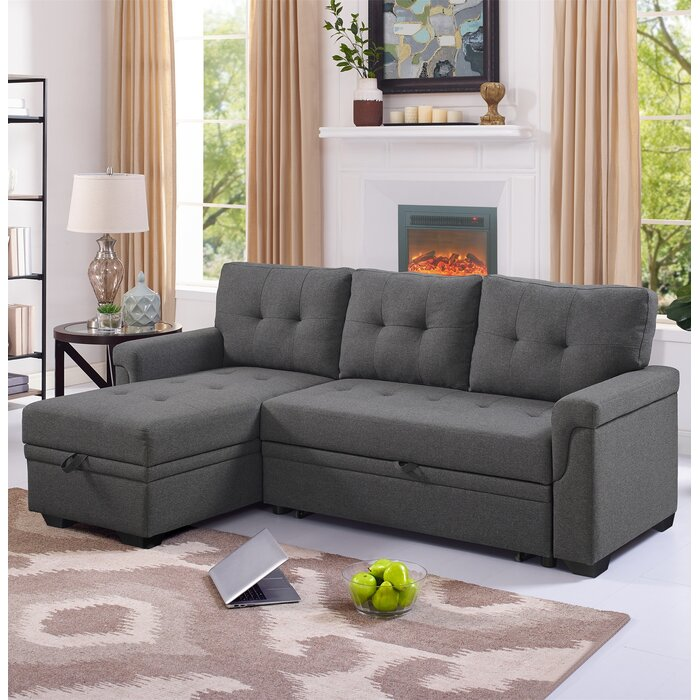 Brilliant Platte Right Hand Facing Sleeper Sectional Pabps2019 Chair Design Images Pabps2019Com