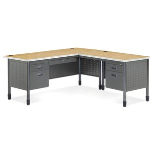 OFM Mesa Series L-Shaped Executive Desk