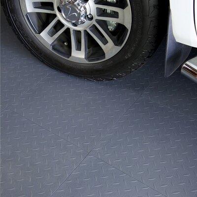 "18"" X 18"" Multi-purpose Flexible Pvc Diamond Pattern In Gray Blocktile"