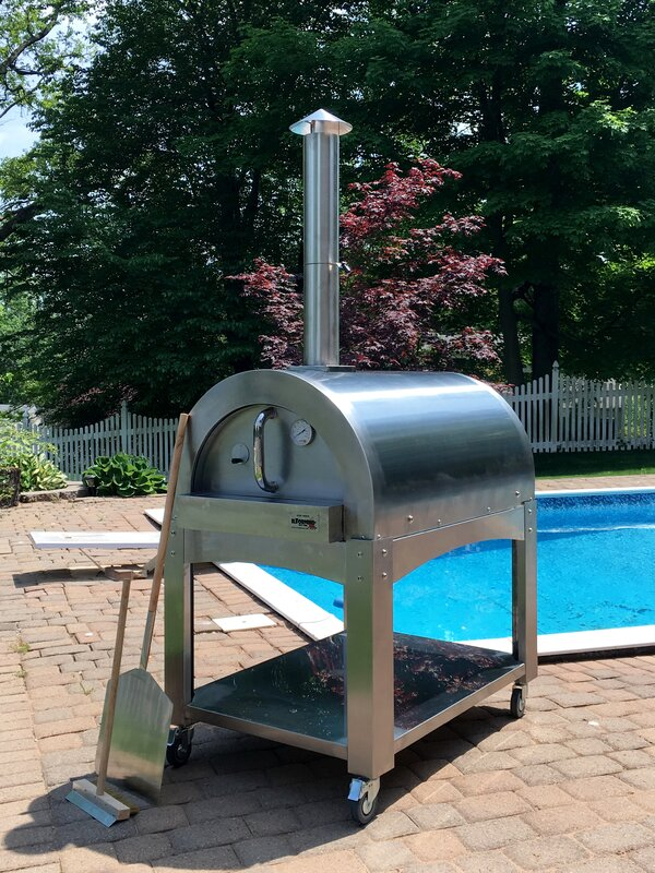 basic wood fired pizza oven