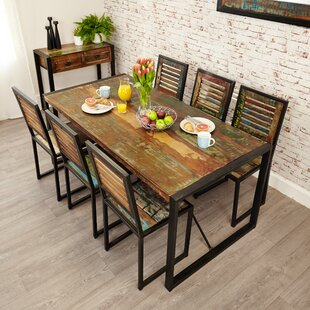Connor Chic Dining Set With 6 Chairs