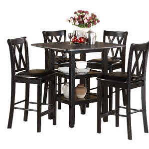 Kathie 5 Piece Counter Height Dining Set by Darby Home Co