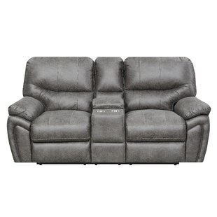 Quance Reclining Loveseat by Winston Porter