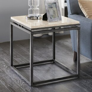 Columbiaville End Table by Gracie Oaks