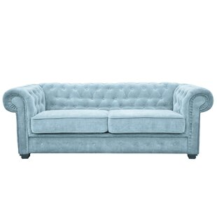 Alderwood 2 Seater Chesterfield Sofa Bed By Three Posts