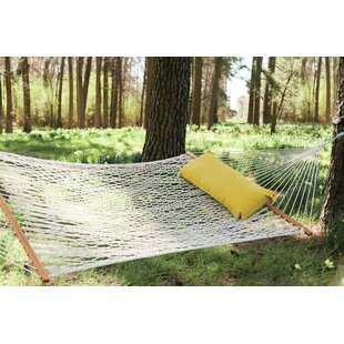 Delvecchio Original DuraCord Rope Tree Hammock by Breakwater Bay