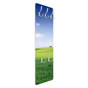 Nature's Peace Wall Mounted Coat Rack By Symple Stuff