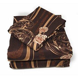 Astoria Grand Munz Floral Flat Sheet