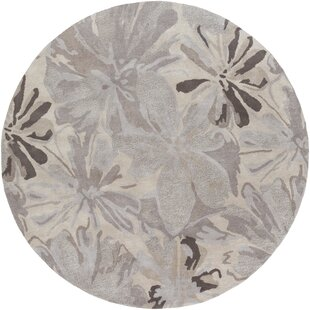 Amice Hand-Tufted Wool Beige/Gray Area Rug by Alcott Hill