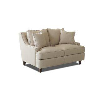 Wayfair Custom Upholstery™ Tricia Power Hybrid Reclining Loveseat